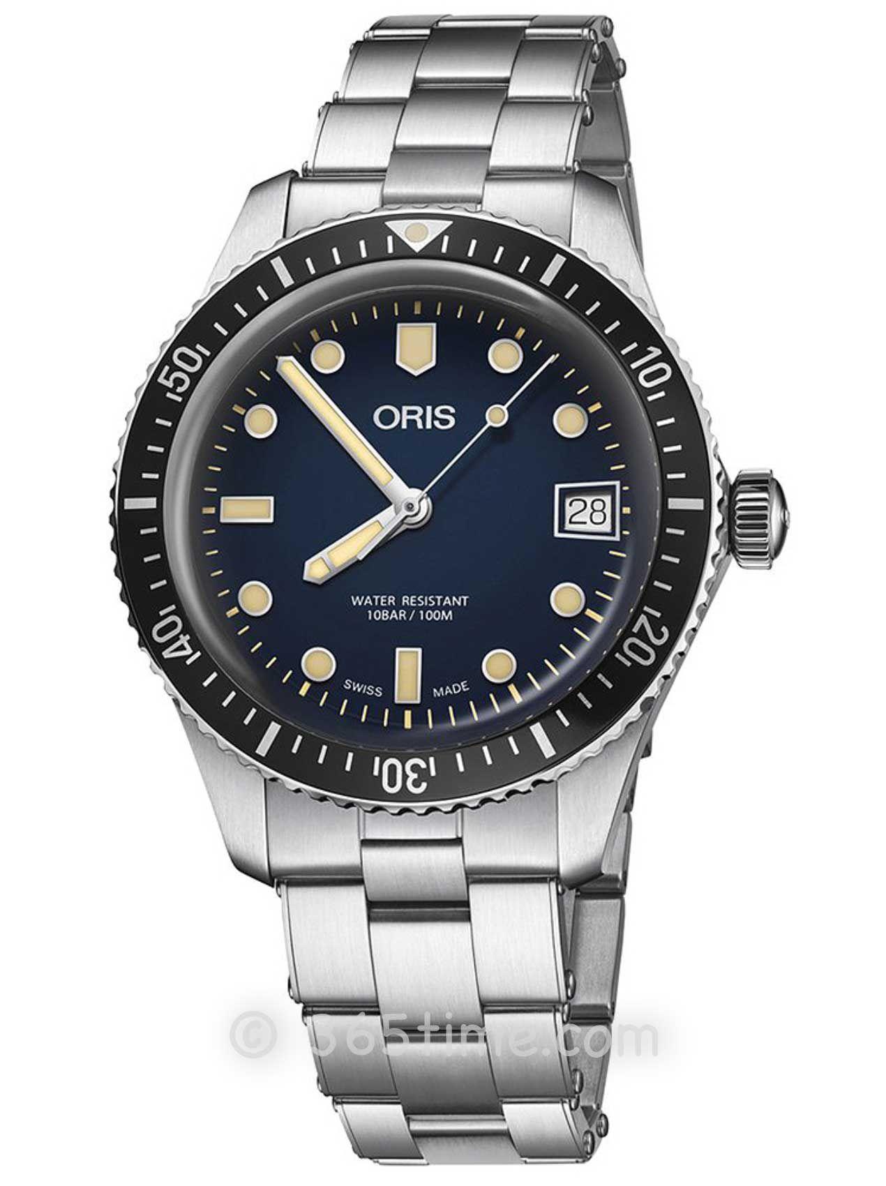 Oris豪利时潜水系列65年复刻版潜水腕表01 733 7747 4055-07 8 17 18