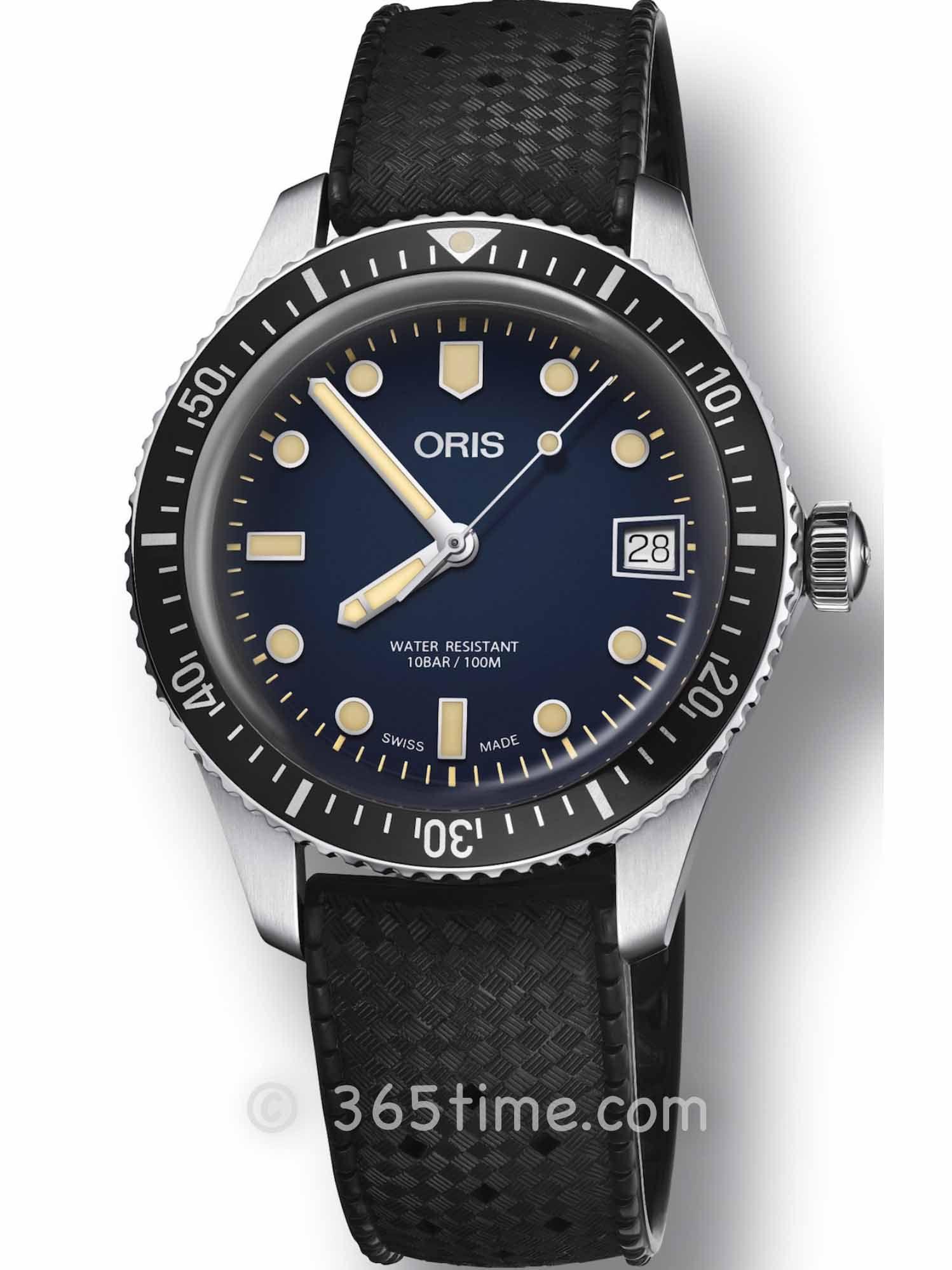 Oris豪利时潜水系列65年复刻版潜水腕表01 733 7747 4055-07 4 17 18