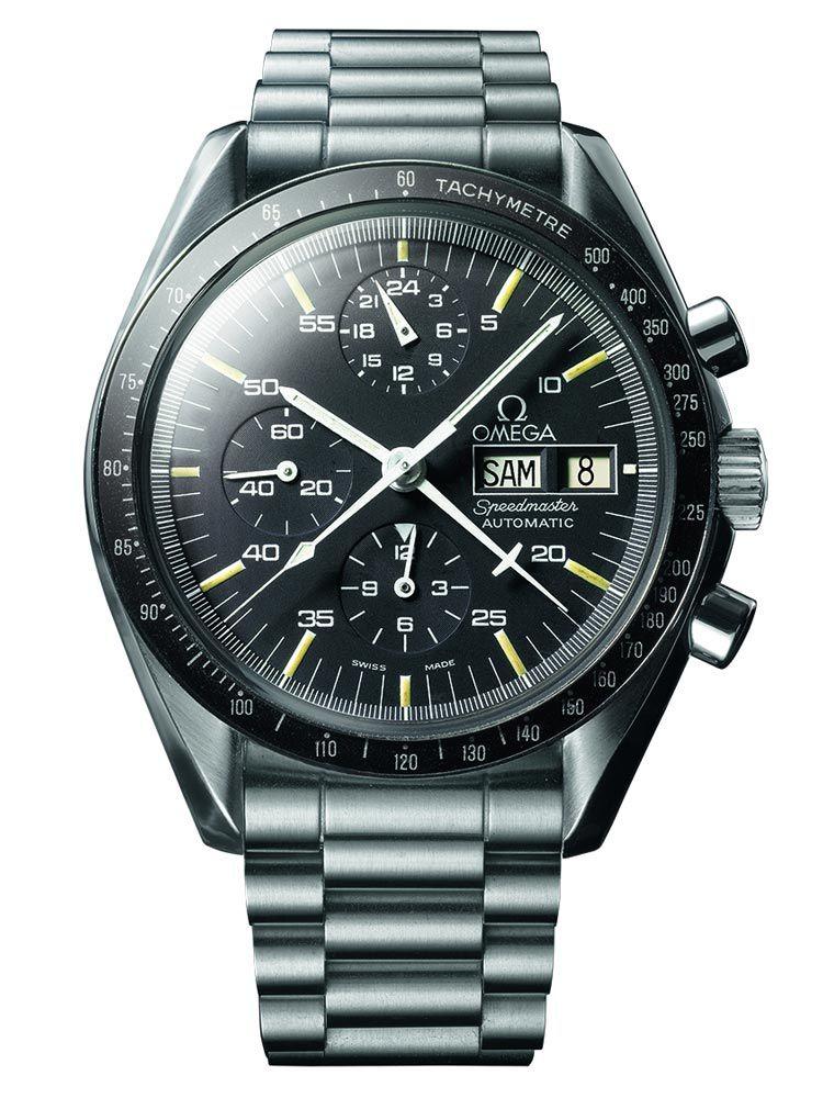 欧米茄超霸系列双历自动机械腕表ST 376.0822
