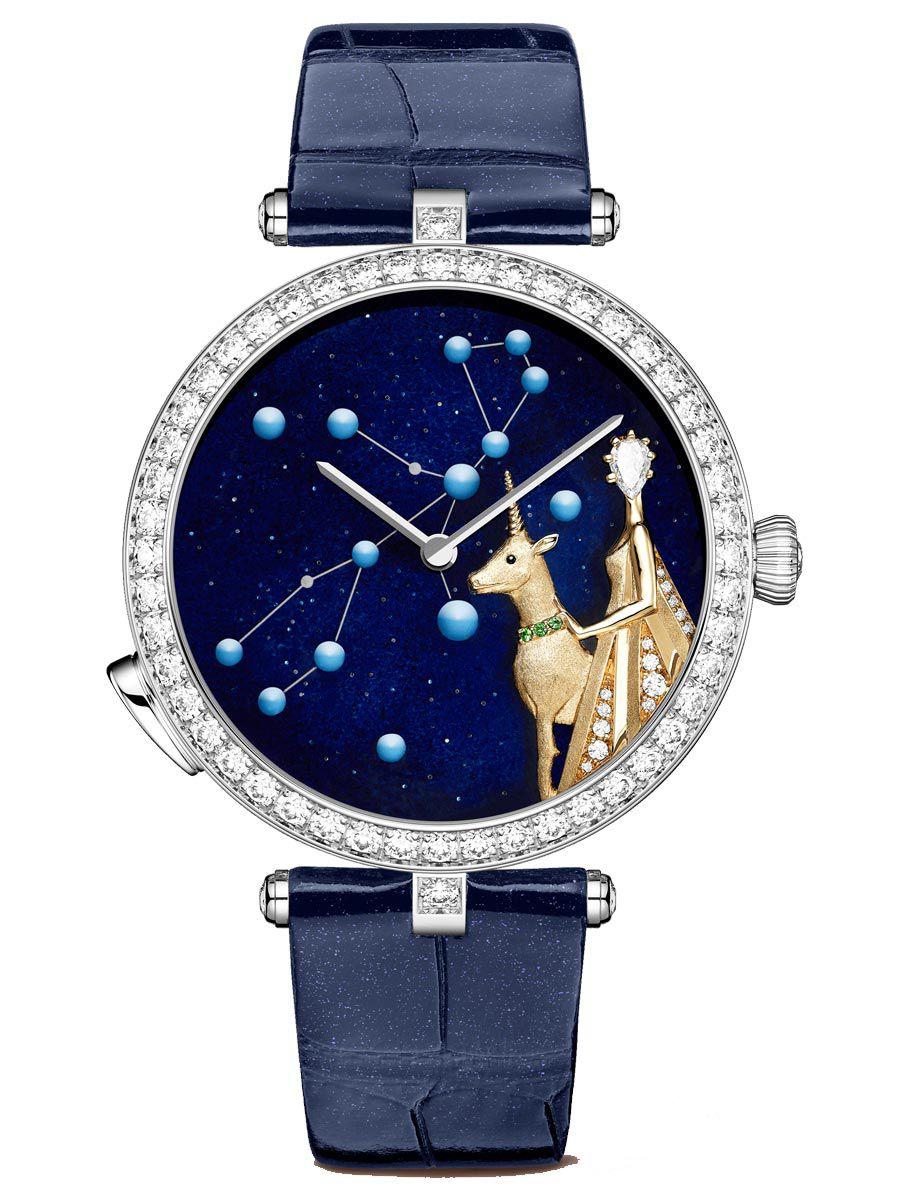 梵克雅宝诗意复杂功能系列Lady Arpels Zodiac处女座腕表VCARO8TW00