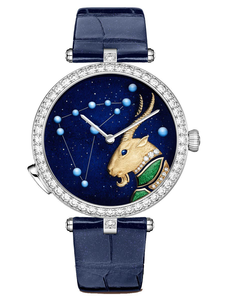 梵克雅宝诗意复杂功能系列Lady Arpels Zodiac摩羯座腕表VCARO8TO00