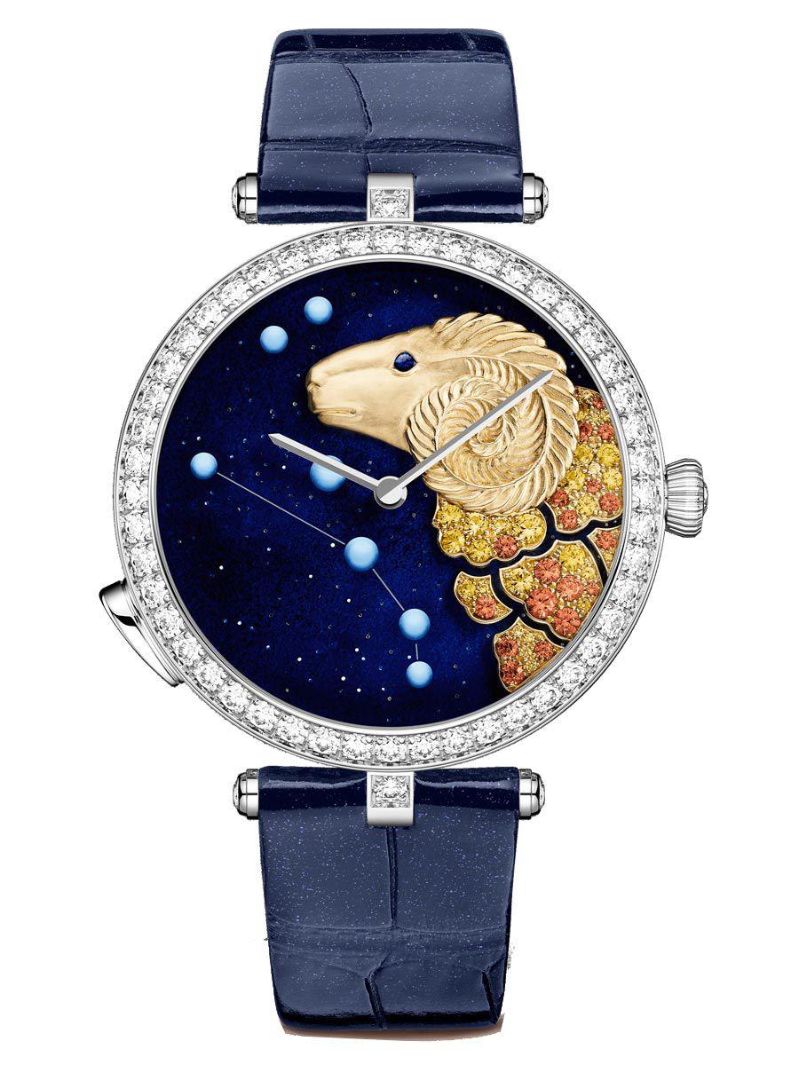 梵克雅宝诗意复杂功能系列Lady Arpels Zodiac白羊座腕表VCARO8TM00