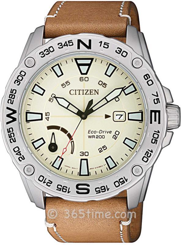 西铁城(CITIZEN) PRT系列光动能运动腕表AW7040-02A