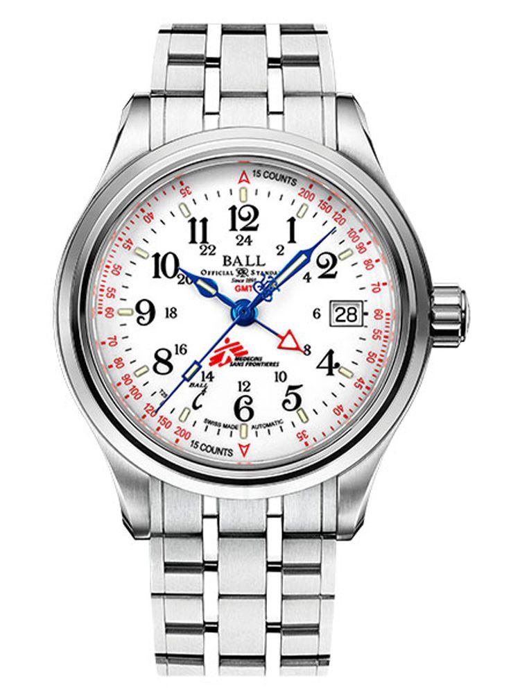 波尔铁路长官系列 无国界医生脉动计 GMT腕表GM1038D-S7J-WH