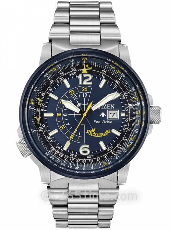 西铁城(CITIZEN)PROMASTER系列BLUE ANGELS NIGHTHAWK蓝天使BJ7006-56L
