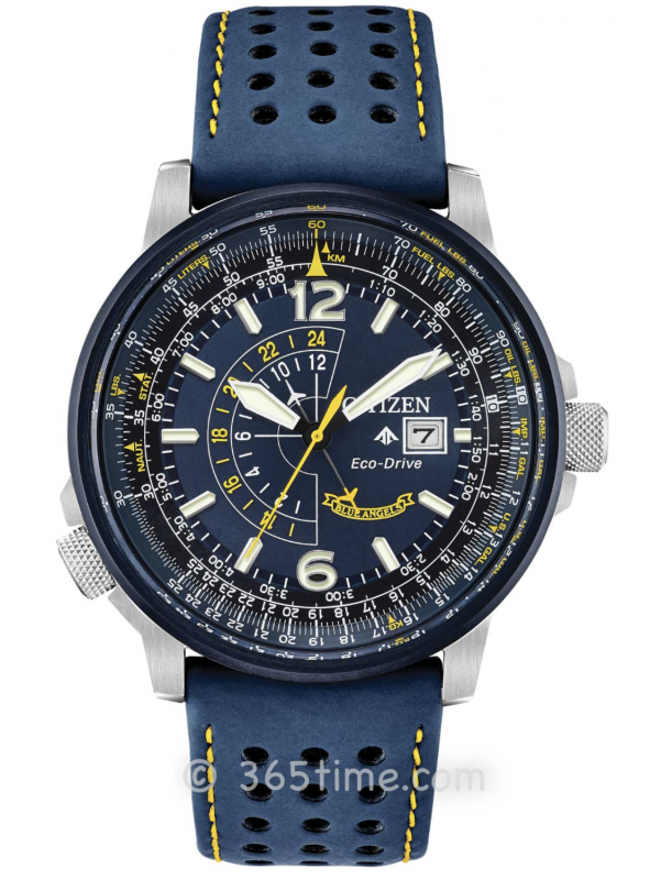 西铁城(CITIZEN)PROMASTER系列BLUE ANGELS NIGHTHAWK蓝天使BJ7007-02L