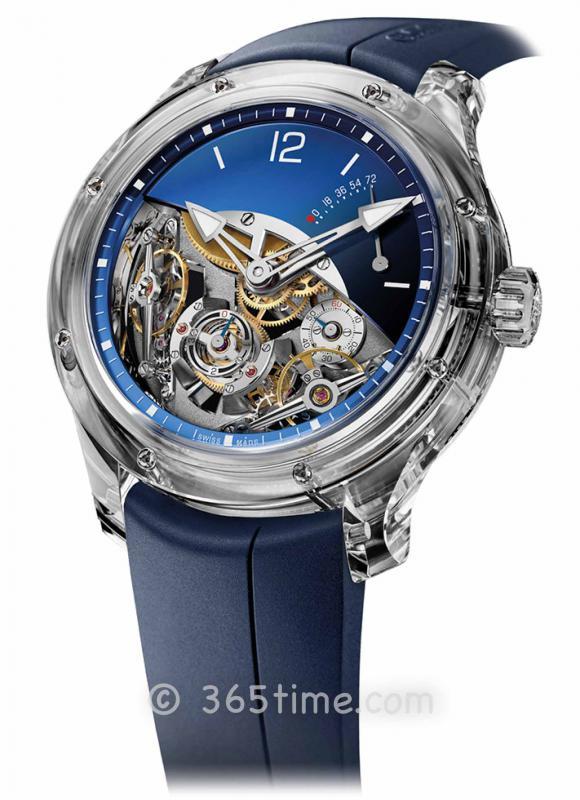 高珀富斯(Greubel Forsey) Double Balancier Sapphire双重摆轮腕表