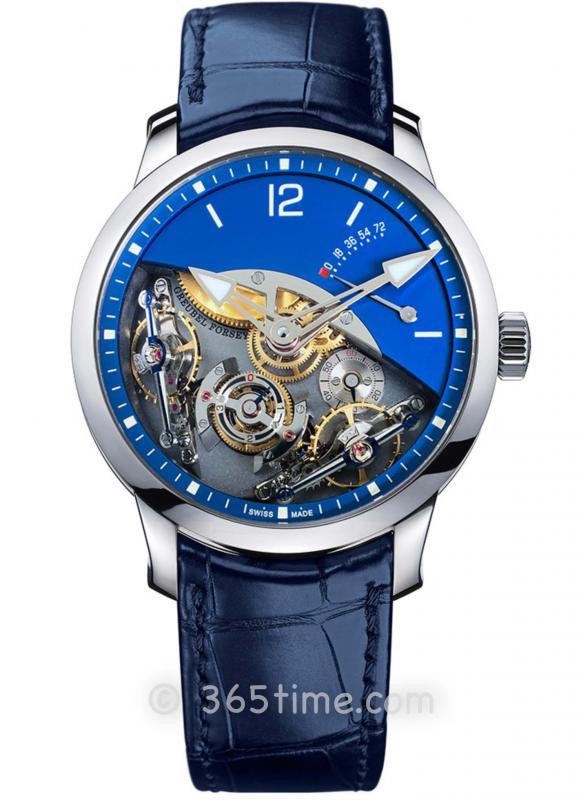 高珀富斯(Greubel Forsey) Double Balancier Sapphire双重摆轮腕表9100 9472