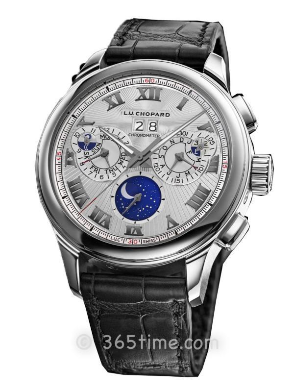 萧邦 (Chopard)L.U.C系列大型复杂功能万年历计时码表腕表161973-1002