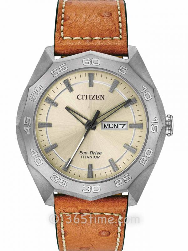 西铁城(CITIZEN)Brycen系列AW0060-11P男士光动能腕表