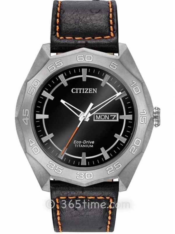西铁城(CITIZEN)Brycen系列AW0060-03E男士光动能腕表