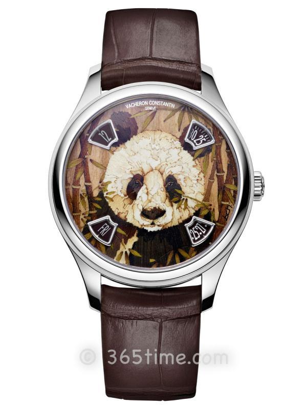 """江诗丹顿LES CABINOTIERS阁楼工匠""""野生大熊猫""""腕表7600C/000G-B450"""
