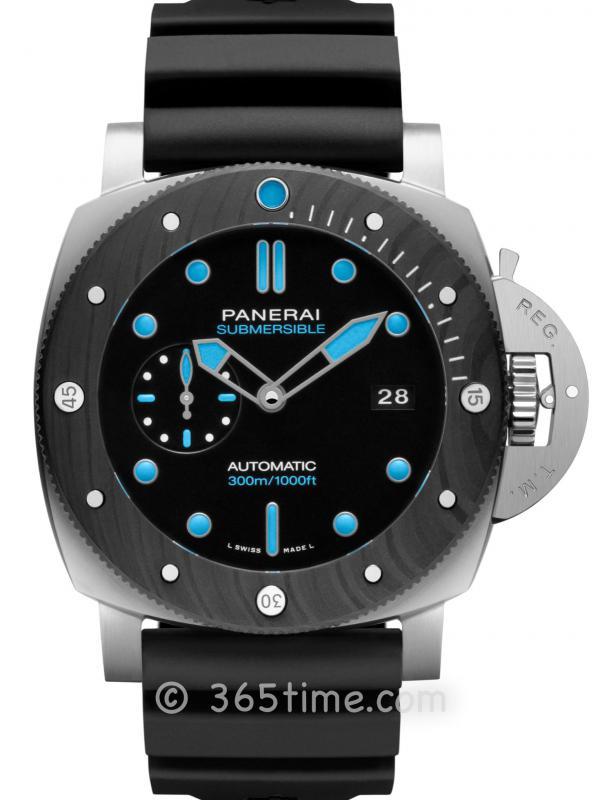 沛纳海SUBMERSIBLE BMG-TECHTM 47毫米潜行系列金属玻璃腕表PAM00799