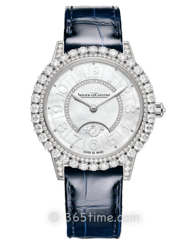 积家Rendez-Vous Night & Day约会系列日夜显示珠宝腕表Q3433570