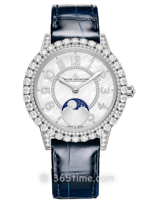 积家Rendez-Vous Moon约会系列月相珠宝腕表Q3523570