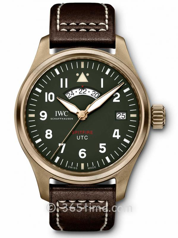 IWC万国喷火战机飞行员UTC腕表「MJ271」特別版IW327101