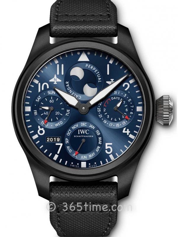 IWC万国大型飞行员系列万年历腕表「罗迪欧大道专卖店」特別版IW503001