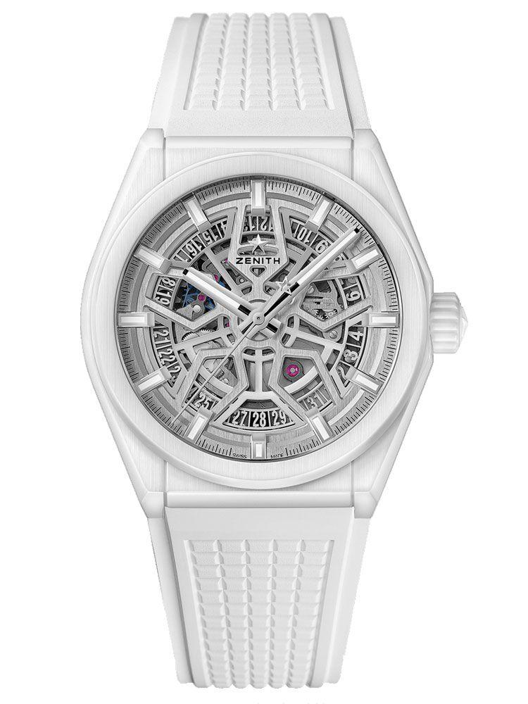 真力时DEFY CLASSIC白色陶瓷腕表49.9002.670/01.R792