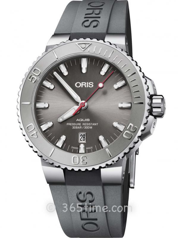 Oris豪利时潜水系列AQUIS日历腕表01 733 7730 4153-07 4 24 63EB