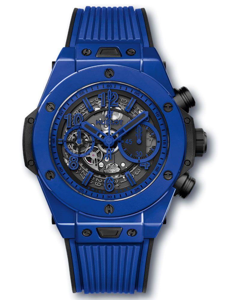 宇舶Big Bang系列UNICO蓝色陶瓷腕表411.ES.5119.RX