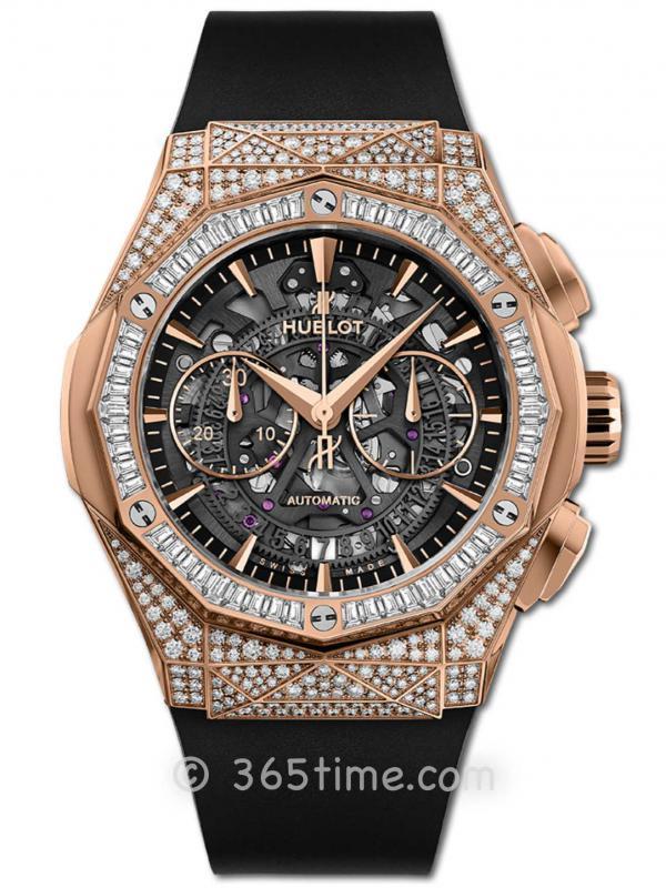 Hublot宇舶经典融合系列AEROFUSION王金珠宝限量款腕表525.OX.0180.RX.0904.ORL19