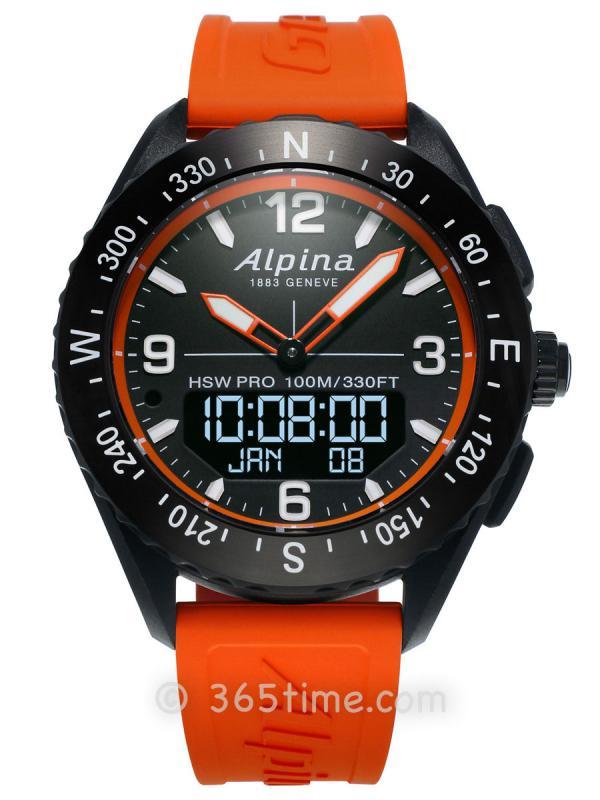 艾沛勒AlpinerX智能手表AL-283LBO5AQ6