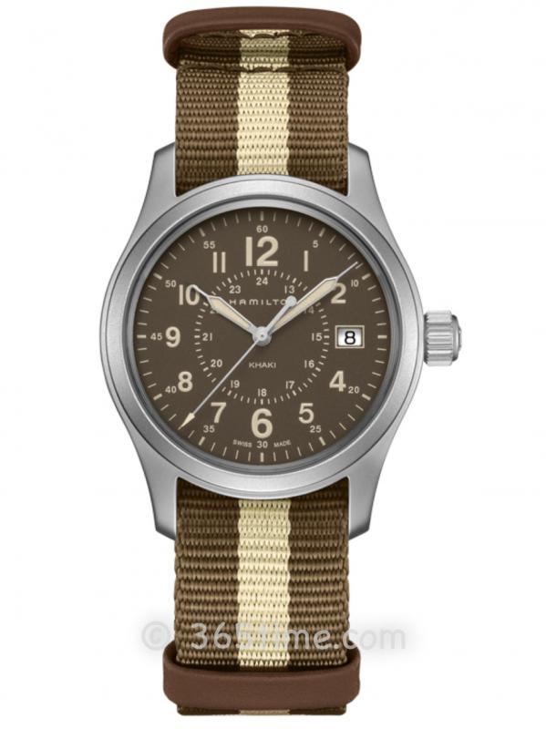 汉米尔顿卡其野战系列H68201093石英腕表