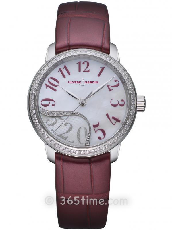 雅典表玉玲珑限量款腕表8153-230BLE/60-06
