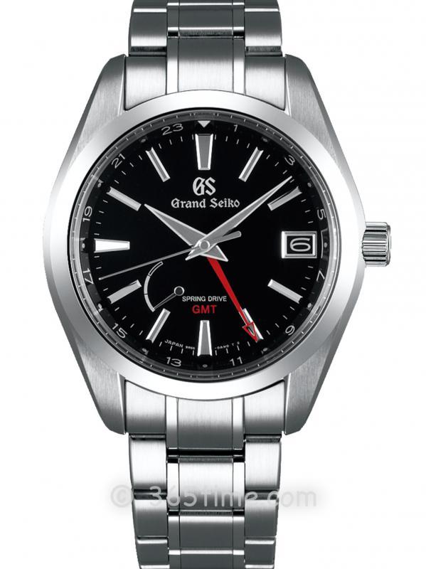 冠蓝狮 (Grand Seiko) Heritage系列GMT两地时间手动上链腕表SBGE211