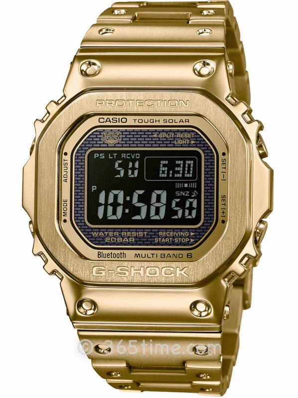 卡西欧G-SHOCK系列数显腕表GMWB5000GD-9
