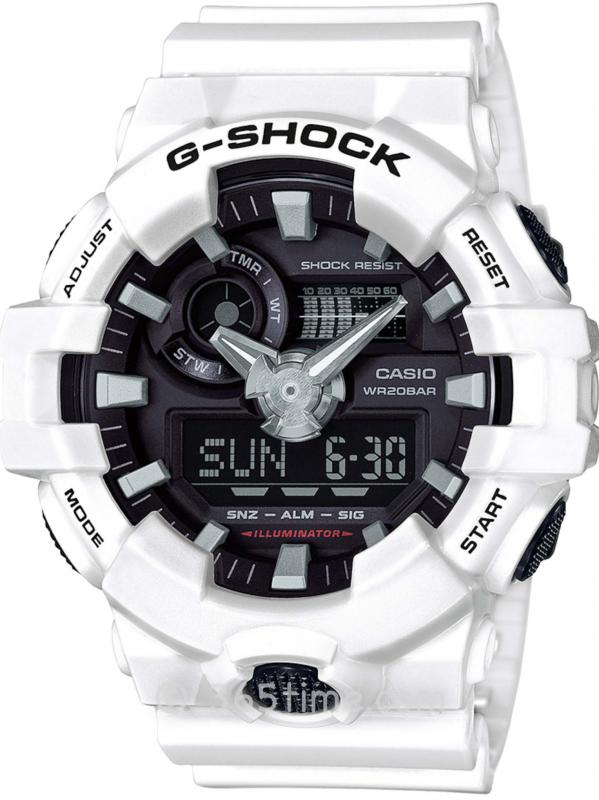 Casio卡西欧G-Shock GA700-7A多维模拟数字手表