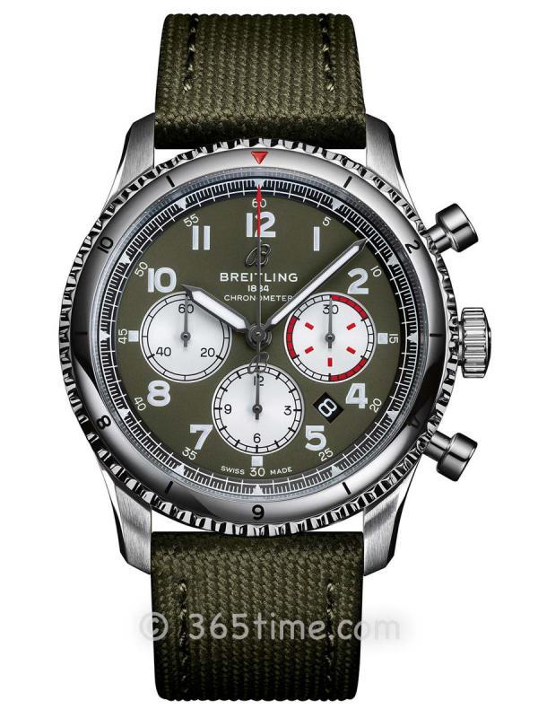 百年灵航空计时8 B01计时腕表43毫米AB0119