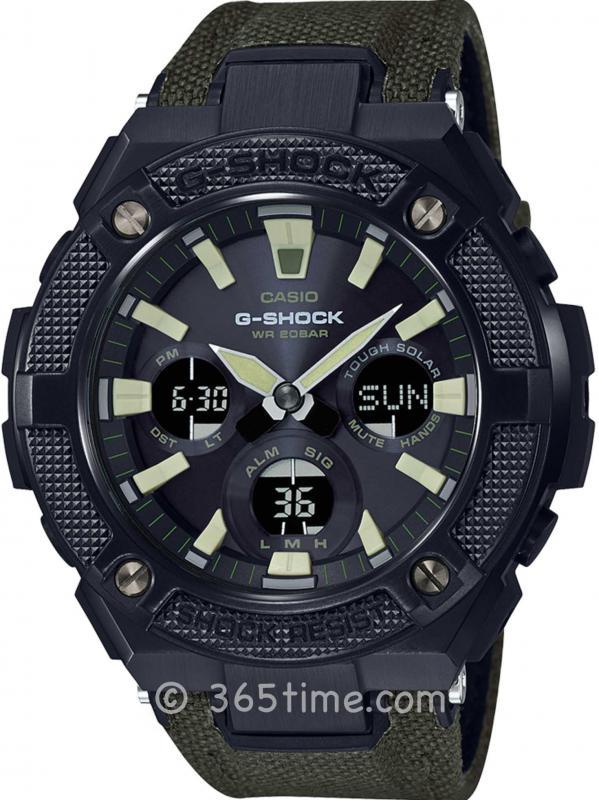 Casio卡西欧G-Shock G-Steel系列腕表GSTS130BC-1A3