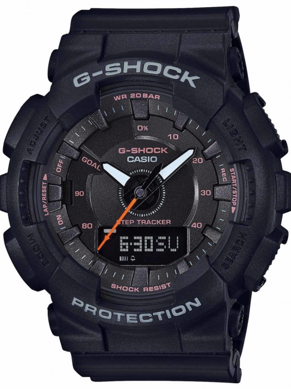 Casio卡西欧G-SHOCK S SERIES系列计步手表GMAS130VC-1A