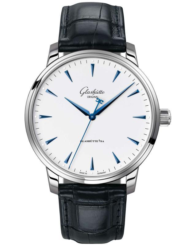 格拉苏蒂原创议员系列 Senator Excellence 议员卓越腕表1-36-01-05-02-50 (短款折叠扣)