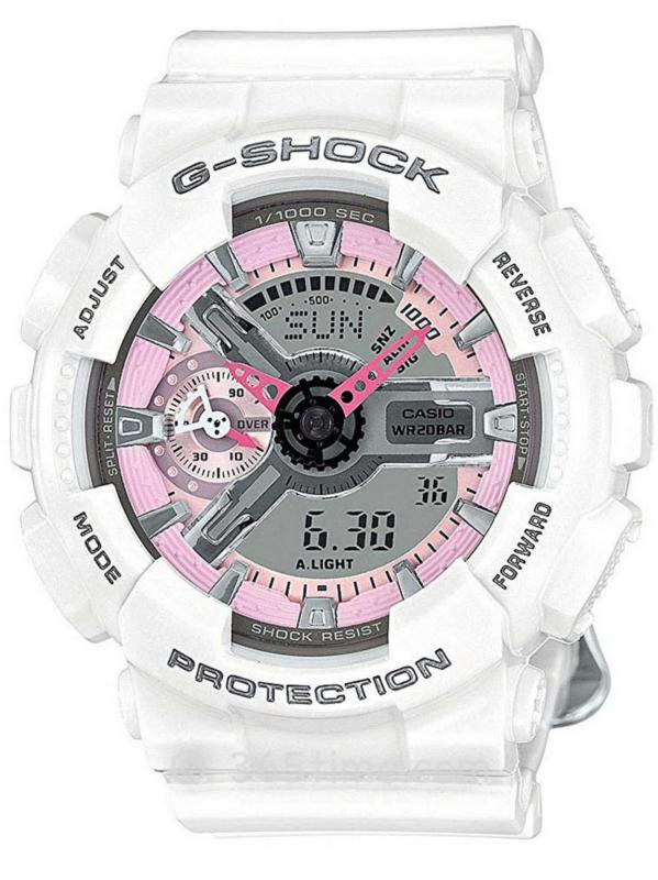 Casio卡西欧G-SHOCK S Series系列腕表GMAS110MP-7A
