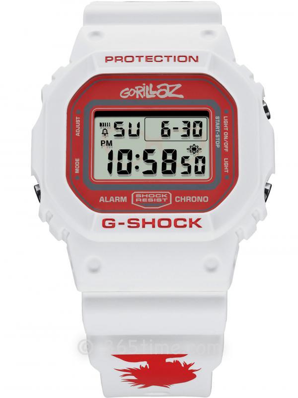 Casio卡西欧G-SHOCK Gorillaz X腕表DW5600GRLZN-7ER