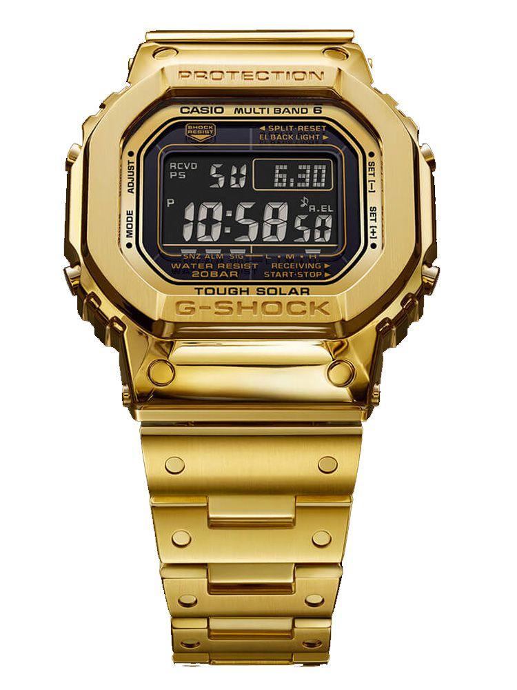 卡西欧G-SHOCK 18K金35周年限量款腕表G-D5000-9JR