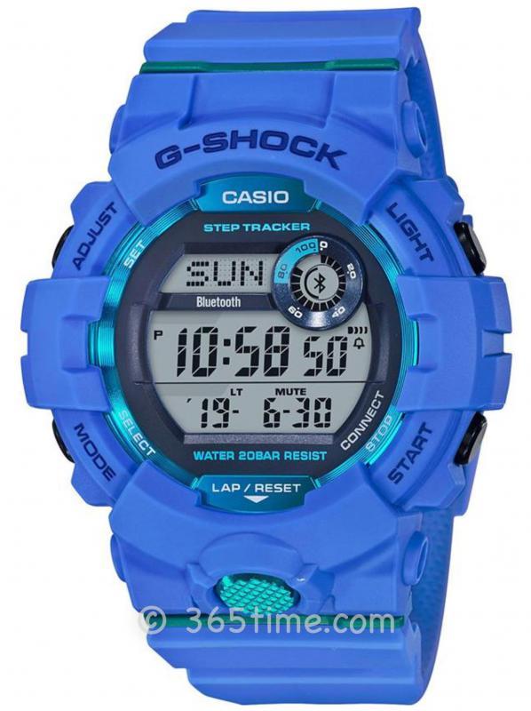 Casio卡西欧G-SHOCK运动系列G-SQUAD腕表GBD-800-2