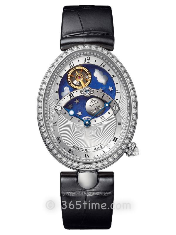 宝玑那不勒斯皇后系列日夜显示女士自动机械腕表8998BB/11/974/D00D