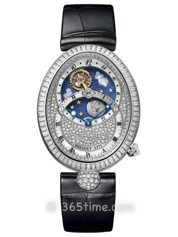 宝玑那不勒斯皇后系列日夜显示女士自动机械腕表8999BB/8D/974/DD0D
