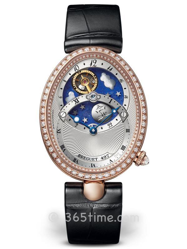 宝玑那不勒斯皇后系列日夜显示女士自动机械腕表8998BR/11/974/D00D
