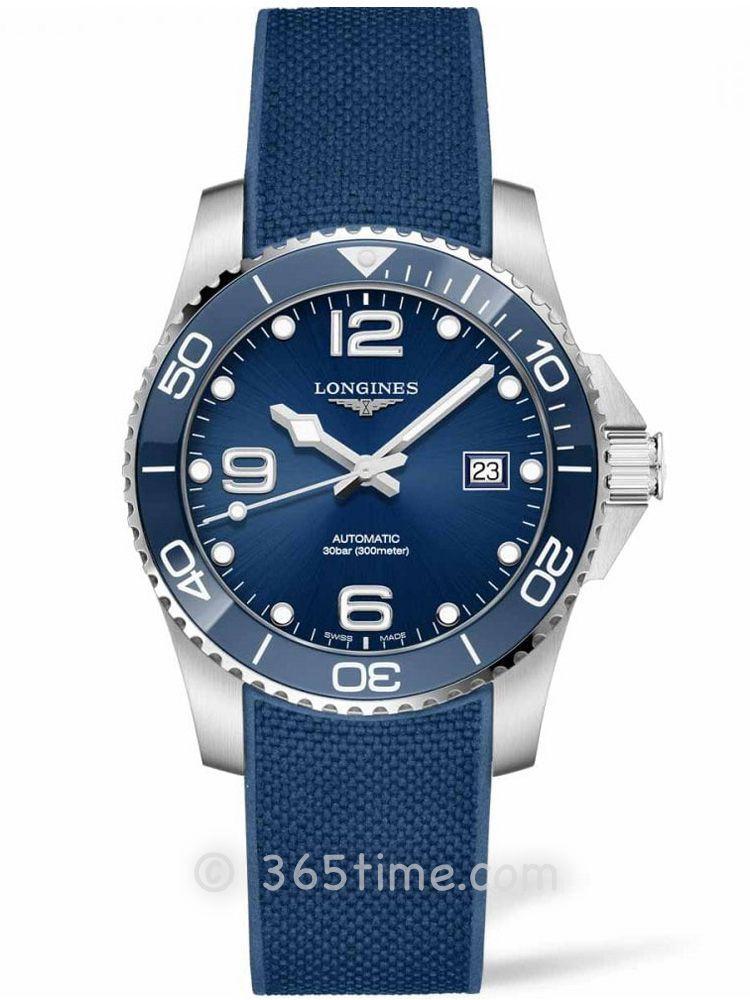 浪琴康卡斯系列潜水计时表L3.781.4.96.9