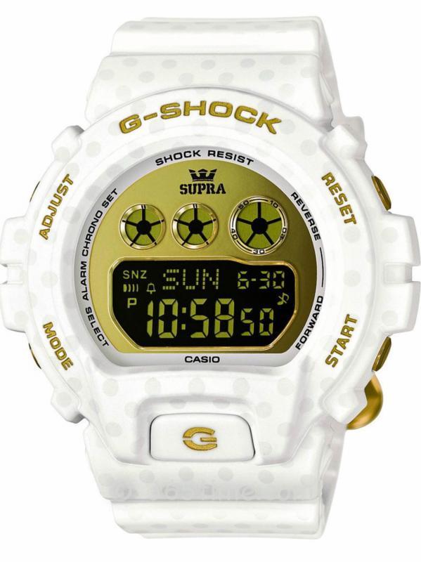 CASIO卡西欧G-SHOCK SUPRA合作限量款GMDS6900SP-7