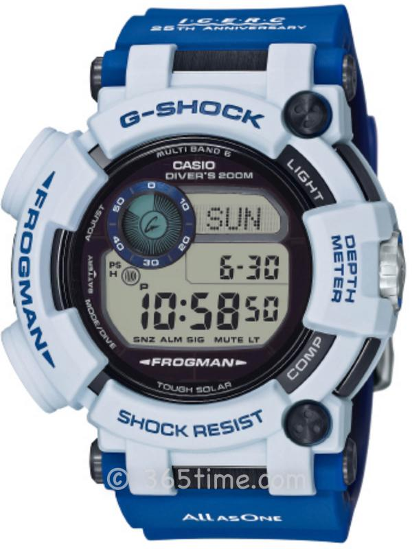 Casio卡西欧G-SHOCK ICERC JAPAN成立25周年纪念款腕表GWF-D1000K-7