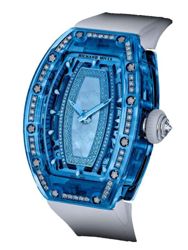 理查德米尔蓝宝石镶钻女士腕表RM 07-02