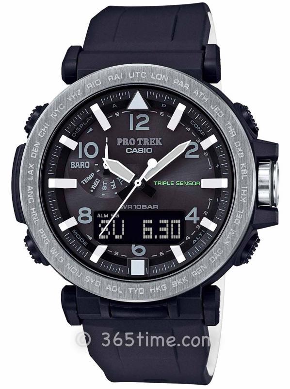 Casio卡西欧PRO TREK指针系列腕表PRG-650-1
