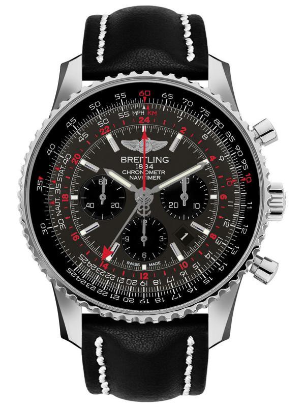 百年灵航空计时1 B04世界时间腕表48毫米AB04413A/F573/441X/A20BA.1