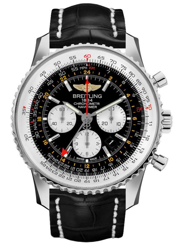 百年灵航空计时1 B04世界时间腕表48毫米AB044121/BD24/760P/A20BA.1