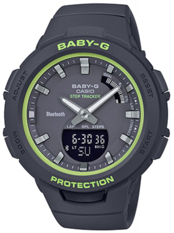 CASIO卡西欧BABY-G运动系列腕表BSA-B100SC-1APR